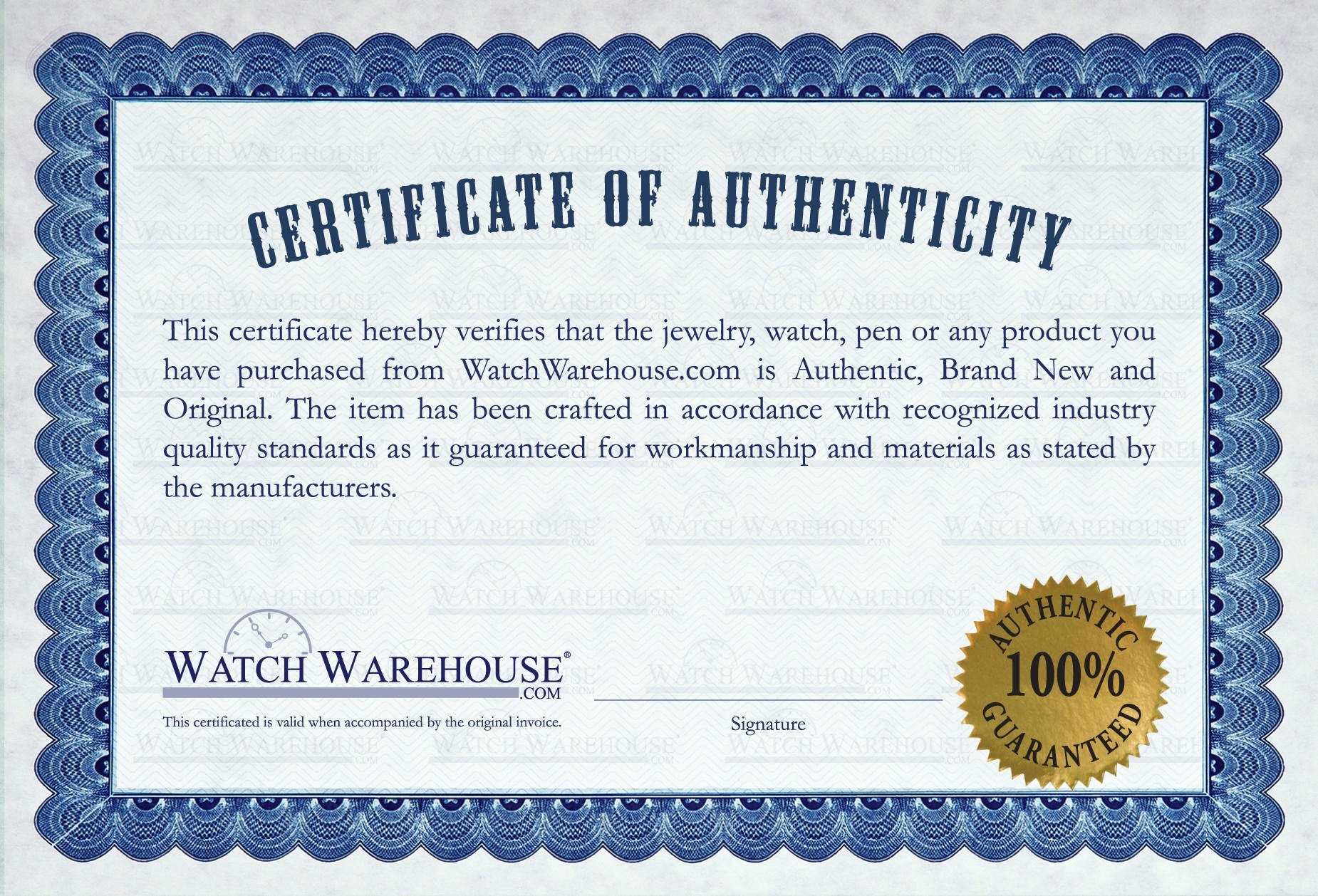 how to get a certificate of authenticity