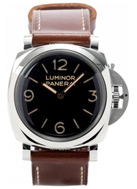 Luxury Panerai Watch with Black Watch Face