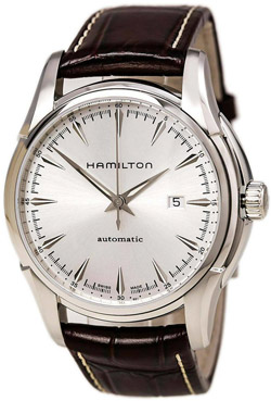 Hamilton Luxury Watch with Leather Wristband