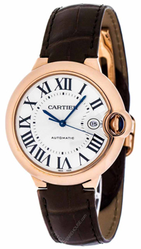 Luxury Cartier Watch with Leather Band
