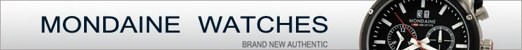 Brand New Authentic Mondaine Watches